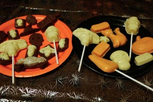 Vegan Halloween Chocolates
