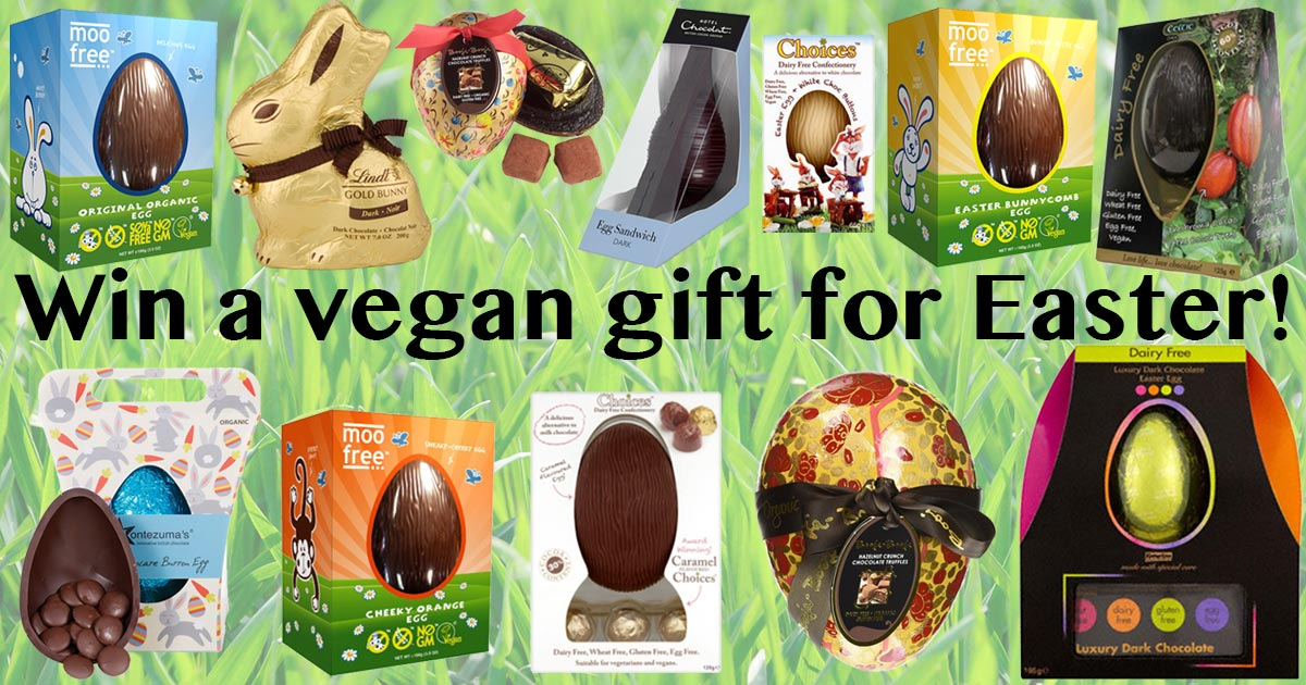 Win a vegan gift for easter closed the hectic vegan the hectic vegan win a vegan gift for easter closed negle Images