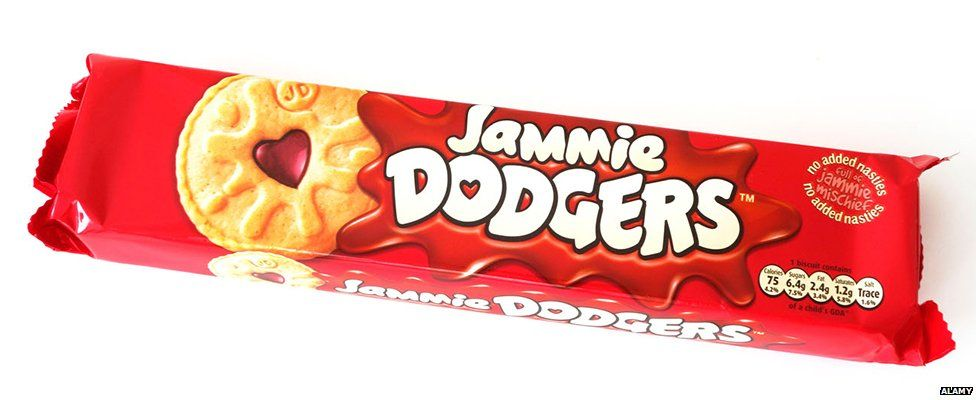 Jammie Dodgers not vegan