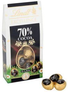 Lindt dark mini eggs