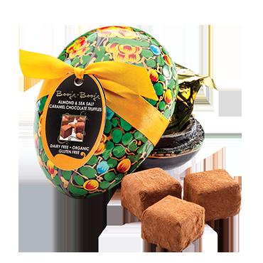 Booja Booja Almond Sea Salt Caramel Chocolate Easter
