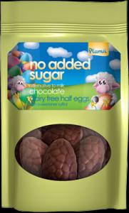 Plamil No Added Sugar Half Eggs