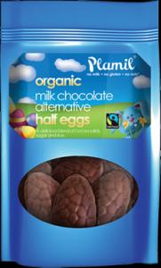 Plamil Milk Chocolate Half Eggs