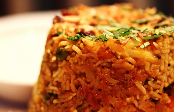 Vegan Vegetable Biriyani by Dome Poon