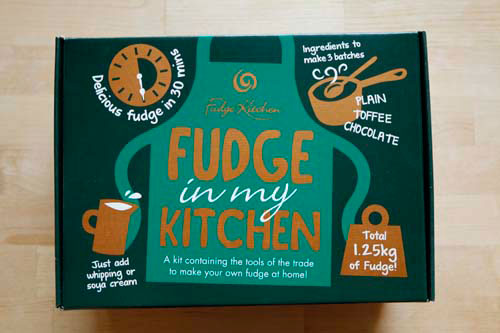 Fudge in my Kitchen