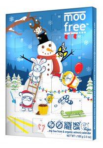 Moo Free Organic Dairy Free Advent Calendar