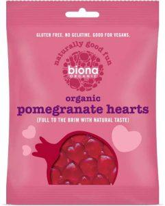 biona organic pomegranate heart sweets