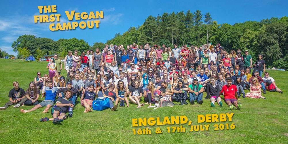 UK Vegan Camp-out