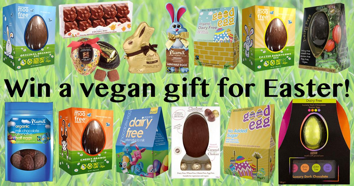 Win a Vegan Easter Gift