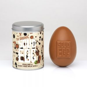 Inkymole Tin Milk Praline Egg