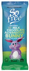 Plamil So Free Organic Alternative to Milk Chocolate Bunny Bar