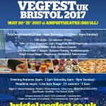 Win 2 Tickets to Vegfest Bristol – CLOSED