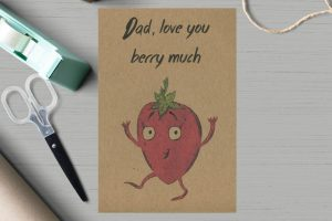 Love You Berry Much Card