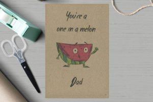 Melon Father's Day Card