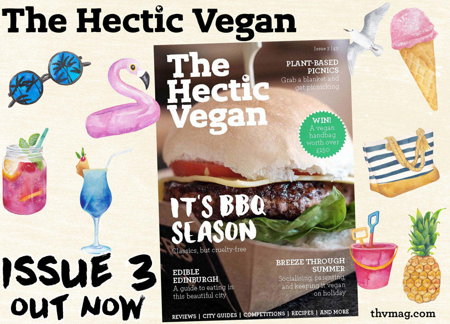 The Hectic Vegan Magazine Issue 3 Promo