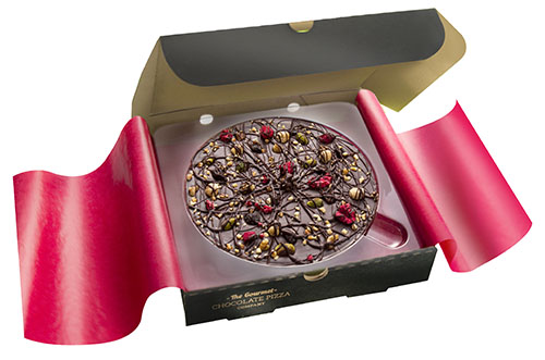 Vegan Chocolate Pizza