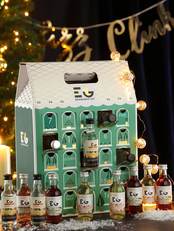 edinburgh gin advent calendar the hectic vegan. Black Bedroom Furniture Sets. Home Design Ideas