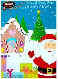 D&D Christmas Advent Calendar with Chocolate