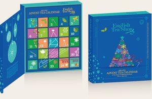 English Tea Shop Book Style Organic Tea Advent Calendar