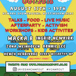 Win a Pair of Tickets to the Vegan Camp Out – CLOSED