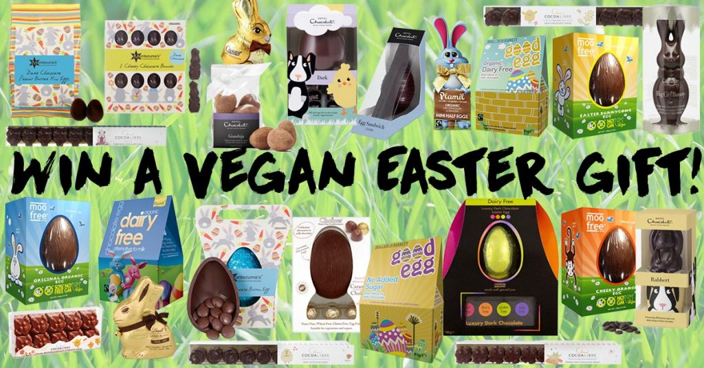 What to get a vegan for easter 2018 eggs and chocolate the win a vegan easter gift negle Gallery