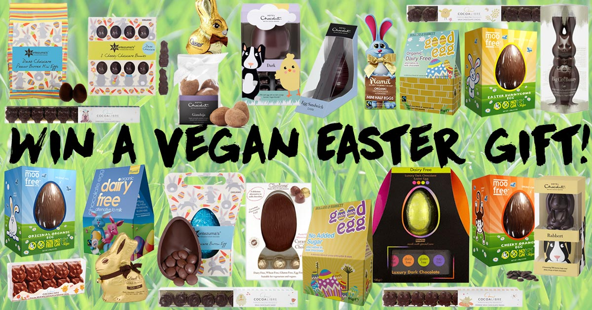 Win a vegan easter gift for 2018 closed the hectic vegan the win a vegan easter gift negle Gallery