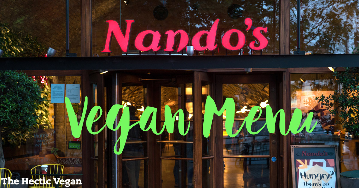 Nando's Vegan Menu