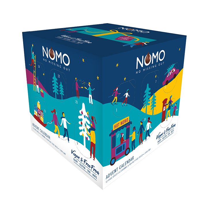 Nomo Advent Calendar The Hectic Vegan