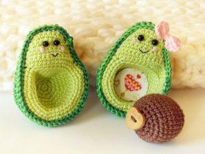 Crochet Avocado