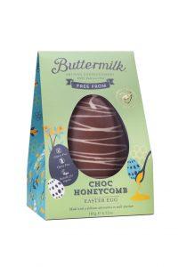Buttermilk Choc Honeycomb Easter Egg