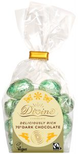 Divine 70% Dark Chocolate Mini Eggs 152g