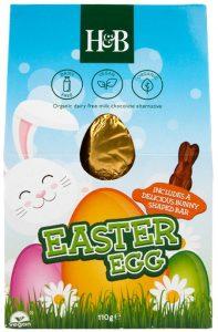 Holland & Barrett Milk Chocolate Style Egg with Bunny Bar