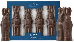 Hotel Chocolat Free From Milk City Easter Bunnies