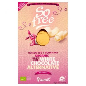 So Free Organic Dairy Free White Chocolate Alternative Easter Egg & Bunny Bar