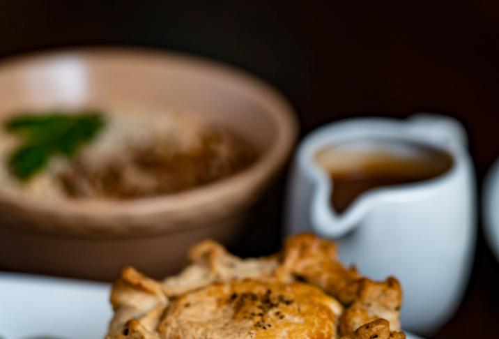 Roast Mushroom & Ale Pie