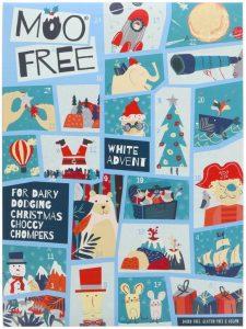 Moo Free Kids White Choc Alt Advent