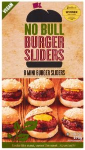 Iceland No Bull 8 Mini Burger Sliders 275g