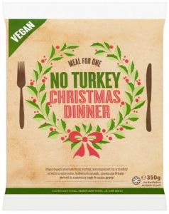 Iceland No Turkey Christmas Dinner Meal for One 350g