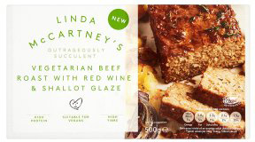 Linda McCartney's Vegetarian Beef Roast with Red Wine & Shallot Glaze 500g