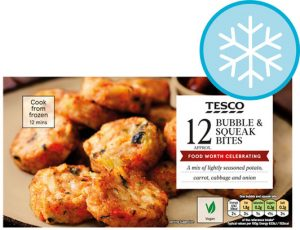 Tesco 12 Bubble & Squeak Bites 240g