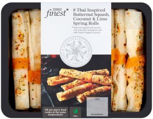 Tesco Finest Thai Inspired Rolls 200g