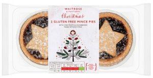 Waitrose 2 Gluten Free Mince Pies 160g