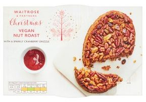 Waitrose Christmas Vegan Nut Roast 330g