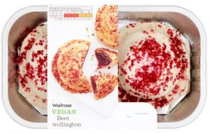 Waitrose Vegan Beet Wellington 396g