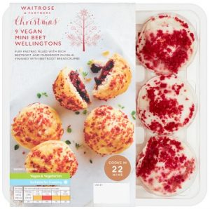 Waitrose Vegan Beet Wellingtons 232g