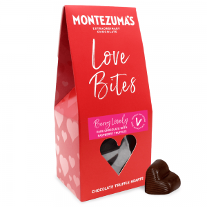 Montezuma's Dark Chocolate Love Bites - Berry Lovely