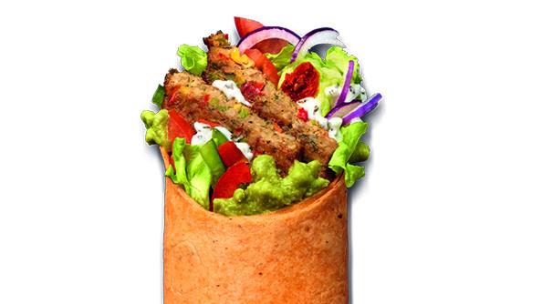 Vegan and Garlic Aioli Wrap