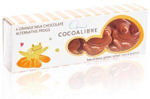Cocoa Libre Chocolate Orange Frogs