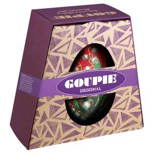 Goupie Original Chocolates in Painted Egg Tin