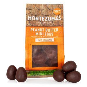 Montezumas Dark Chocolate Peanut Butter Mini Eggs